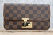Louis Vuitton Damier & Nomade Leather ASCOT Wallet