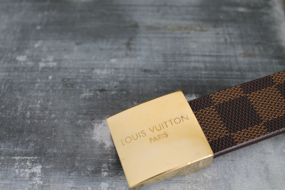 Louis Vuitton Monogram Amp Damier Ceinture Belts