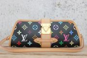 Louis Vuitton Black Multicolor Shirley Clutch