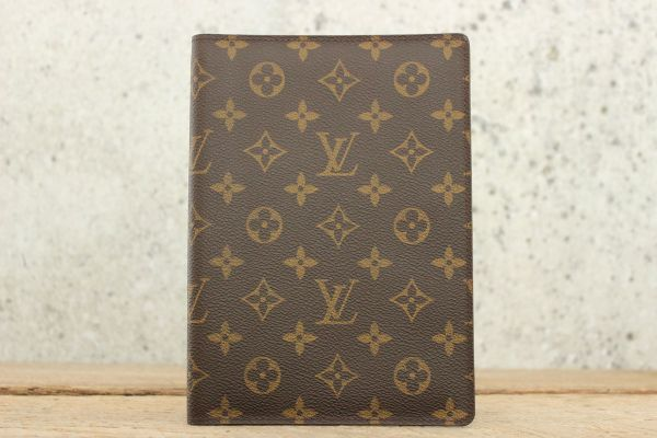 Louis Vuitton Monogram Canvas Agenda Cover