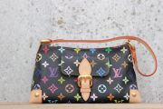 Louis Vuitton Black Multicolor Eliza Shoulder Bag