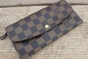 Louis Vuitton Damier Ebene EMILIE Wallet
