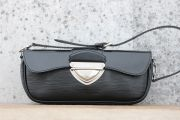 Louis Vuitton Black Epi Leather MONTAIGNE Clutch
