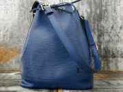 Louis Vuitton Toledo Blue Epi Leather NOE Drawstring Bag
