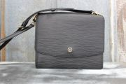 Louis Vuitton Vintage Never Carried Black Epi GRENELLE