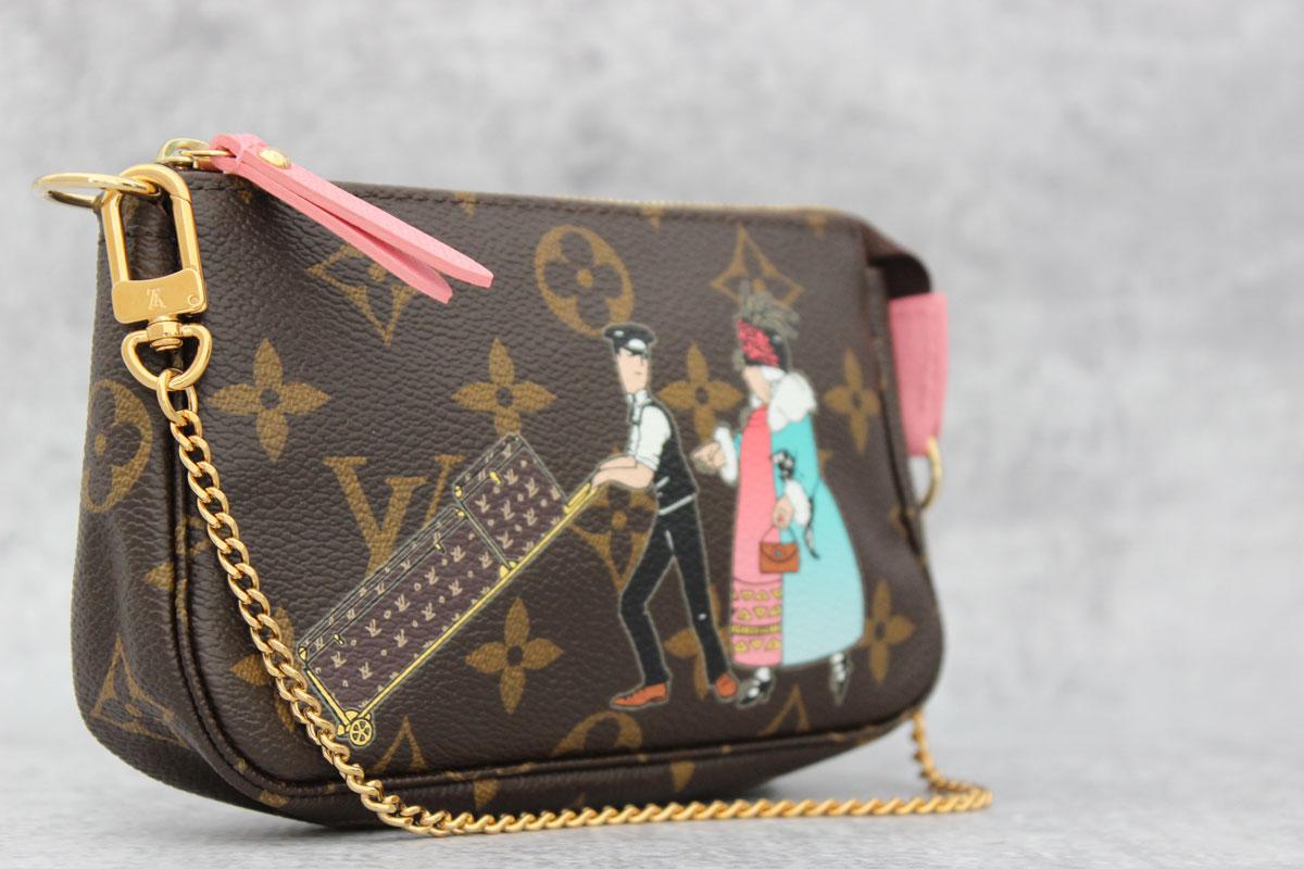 c65d1ce56e9a Louis Vuitton Monogram Canvas Illustre Mini Pochette. Tap to expand