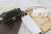 Louis Vuitton Suhali Leather Limited Ed Le Talentueux Black