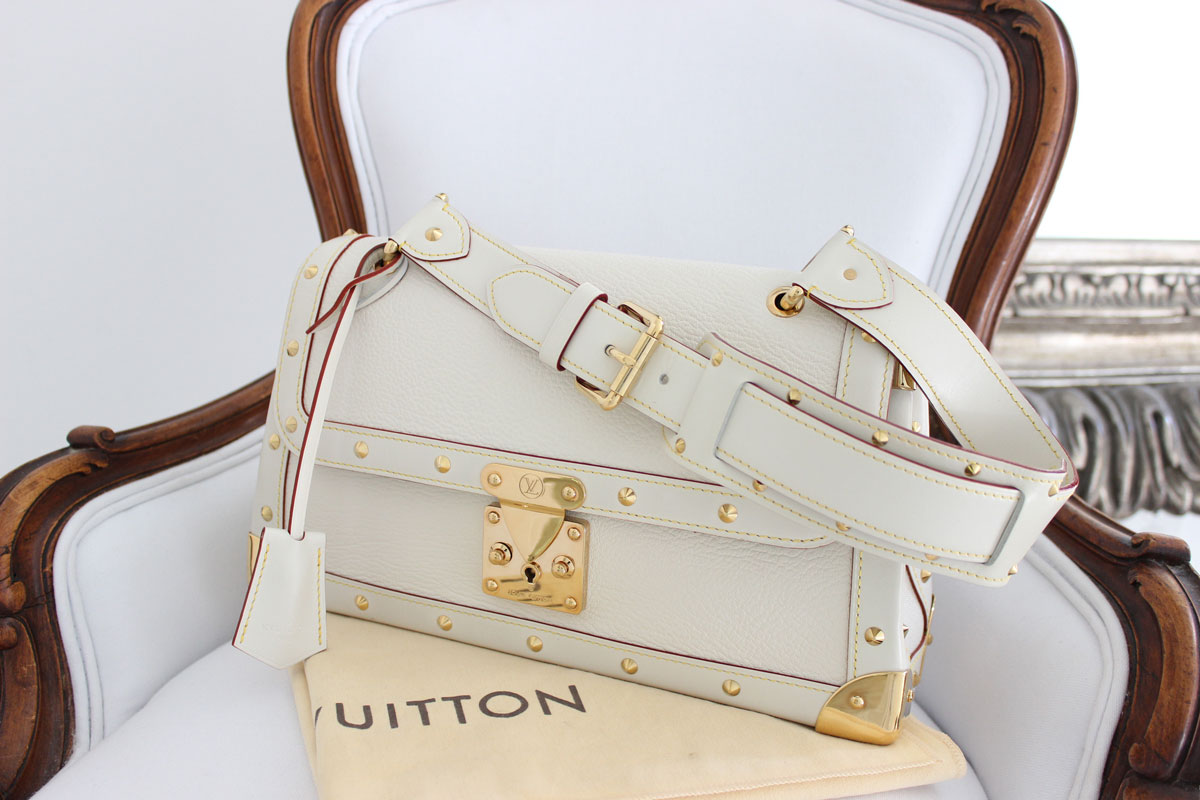 01f03c493fae Louis Vuitton Suhali Leather Le Talentueux Ivory at Jill s Consignment