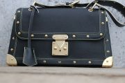 Louis Vuitton Black Suhali Leather LE TALENTUEUX