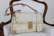 Louis Vuitton Suhali Leather Limited Ed Le Talentueux Blanc