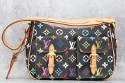 Louis Vuitton Black Multicolor Lodge PM