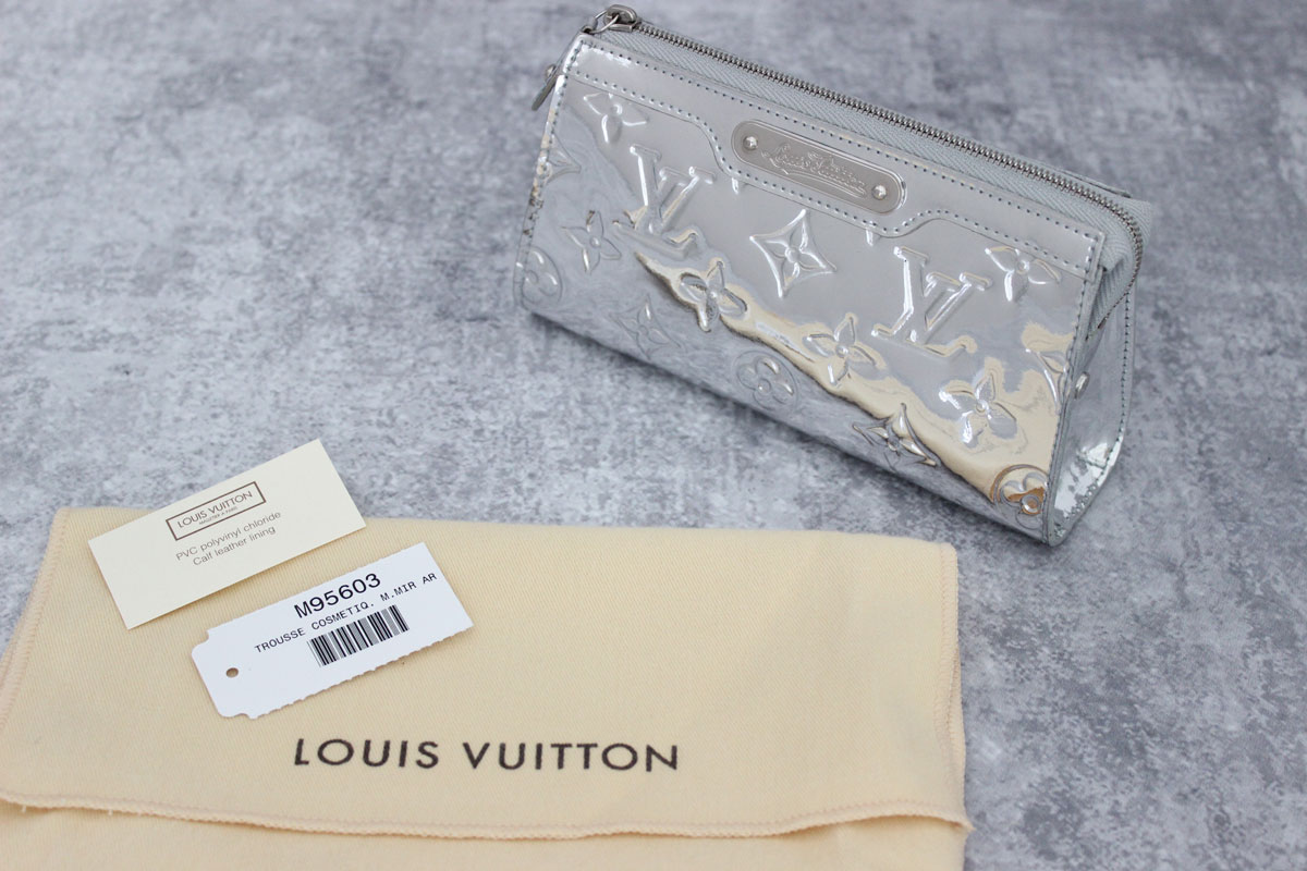 Louis vuitton silver mirror miroir cosmetic case at jill 39 s for Louis vuitton silver alma miroir