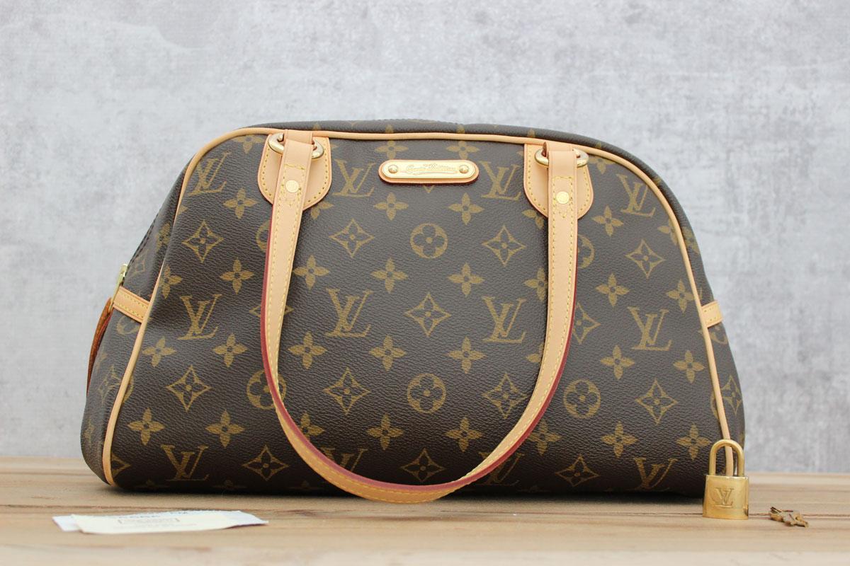 49a7c64714bf Tap to expand. Louis Vuitton Monogram Canvas MONTORGUEIL PM. Louis Vuitton  Monogram Canvas Montorgueil PM Shoulder Bag.