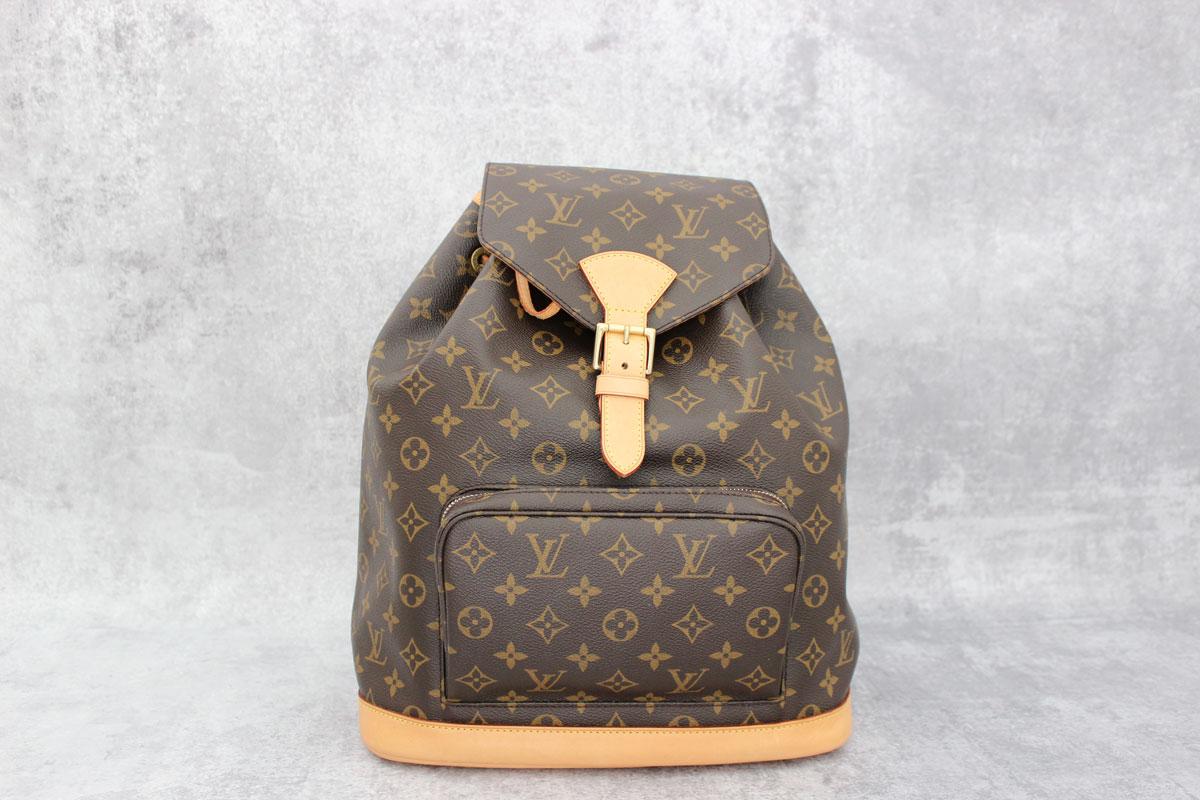a332563ba9dc Louis Vuitton Monogram Montsouris GM Backpack. Tap to expand