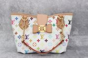 Louis Vuitton White Multicolor Annie MM
