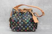 Louis Vuitton Black Multicolor Petit Noe