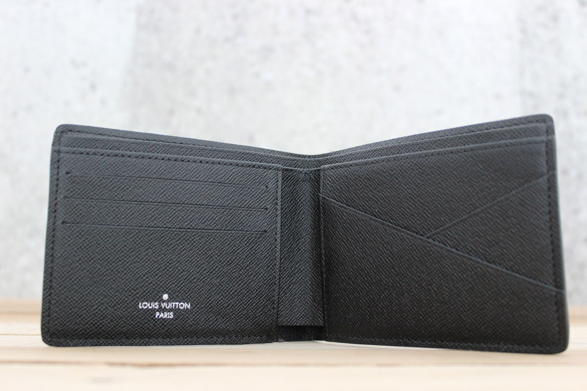 1ad10614baa3 Louis Vuitton NEW Damier Graphite Multiple Wallet. Tap to expand