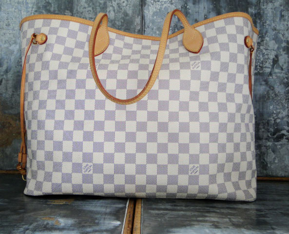 Louis Vuitton Damier Azur NEVERFULL GM 06a7e3f6d028c