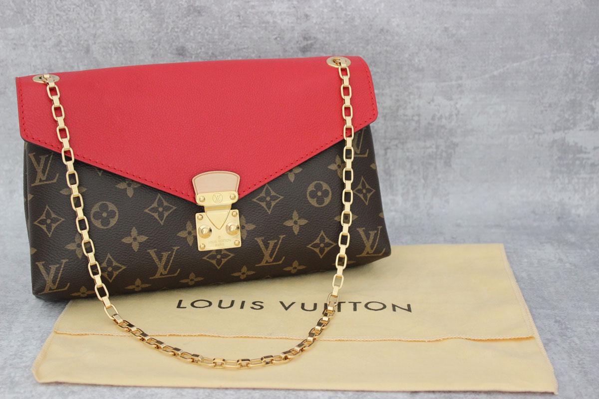 194f8edc5560 Louis Vuitton Monogram Pallas Chain Bag Cerise at Jill s Consignment