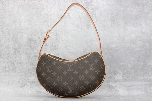 Louis Vuitton Monogram Canvas Pochette Croissant