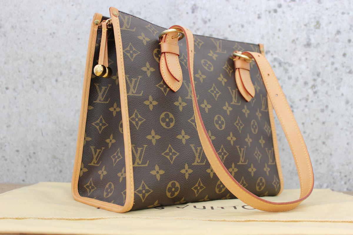 81e2f2828a65 Louis Vuitton Monogram Canvas POPINCOURT HAUT Shoulder Bag. Tap to expand