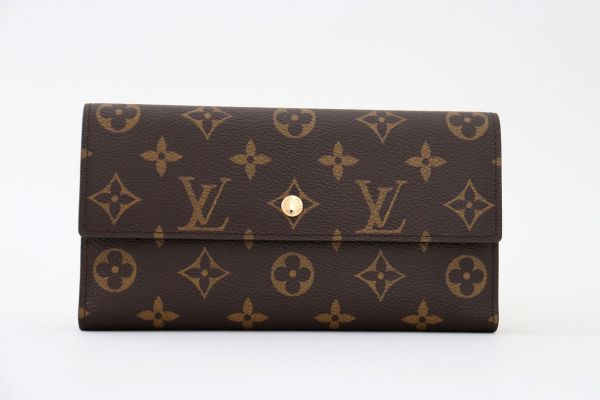 Louis Vuitton Monogram Canvas Porte Tresor International Wallet NM