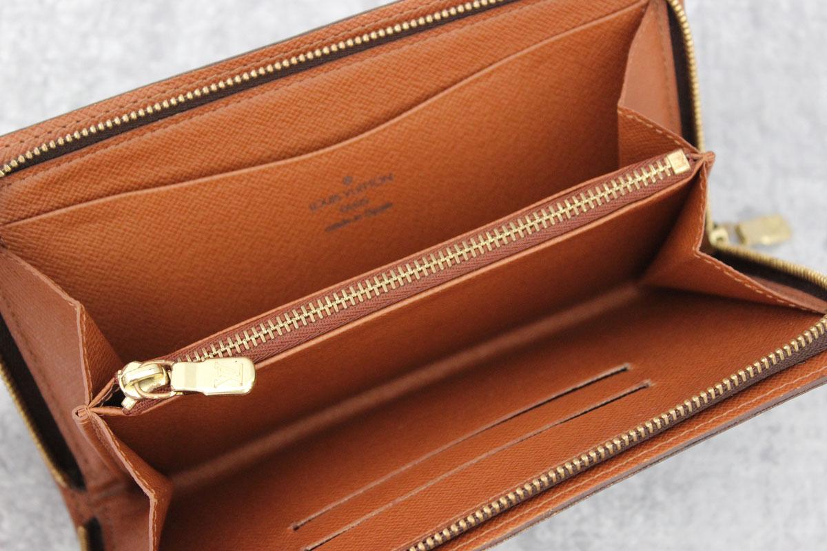 louis vuitton monogram porte monnaie zippe zippered wallet at jill 39 s consignment. Black Bedroom Furniture Sets. Home Design Ideas