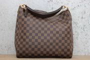 Louis Vuitton Damier Ebene PORTOBELLO PM Shoulder Bag