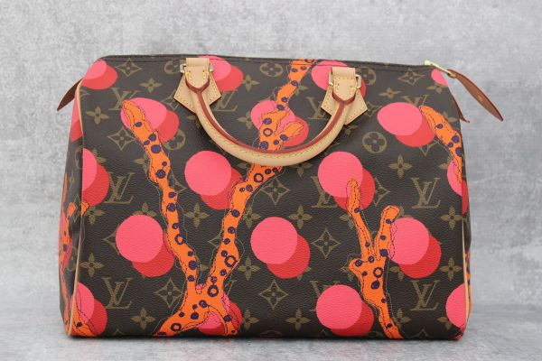 Louis Vuitton Monogram Canvas Ramages Speedy 30