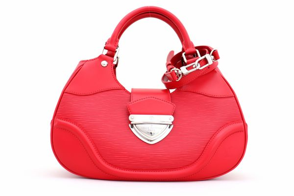 Louis Vuitton Red Epi Leather Sac Montaigne