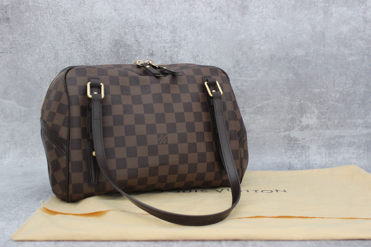 Sac Louis Vuitton Rivington Gm : Louis vuitton damier rivington gm at jill s consignment