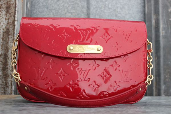 Louis Vuitton Red Monogram Vernis RODEO DRIVE Bag
