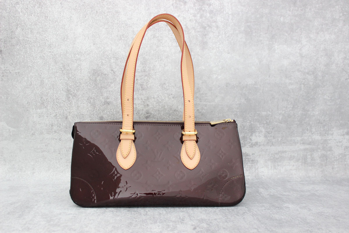6afd06cdc53d Louis Vuitton Amarante Monogram Vernis Rosewood Avenue. Tap to expand