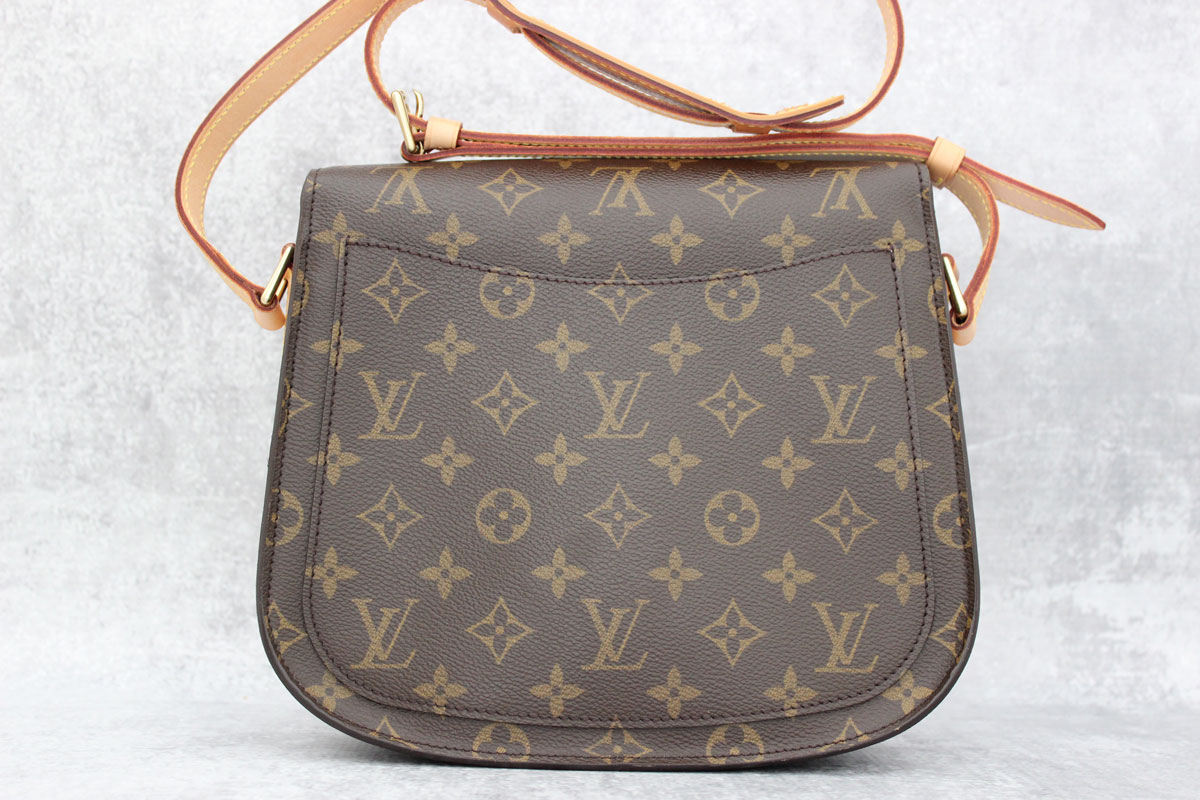 c1b57ad0fbef Louis Vuitton Monogram Canvas Saint Cloud GM at Jill s Consignment