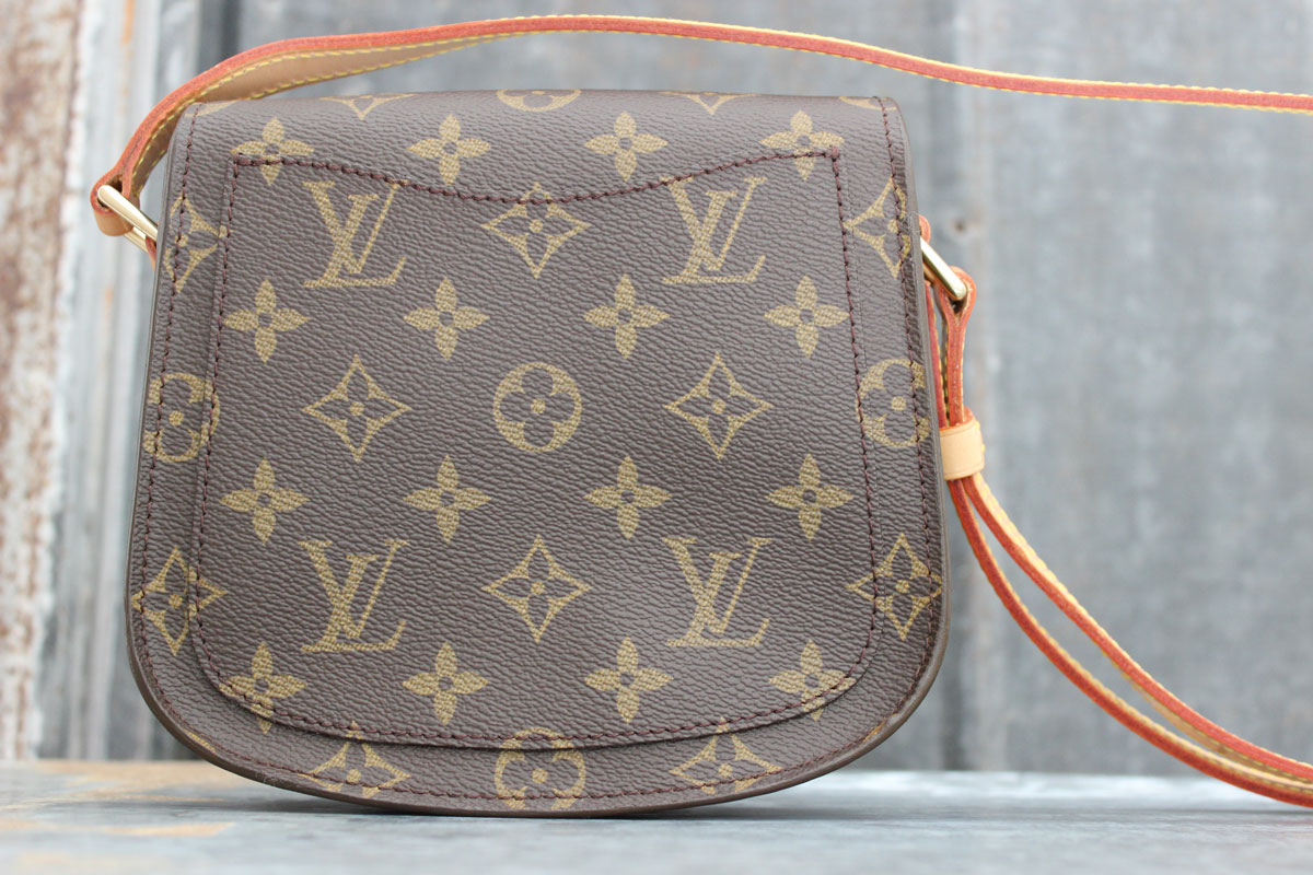 b184a727b1be Louis Vuitton Monogram Canvas SAINT CLOUD Shoulder Bag. Tap to expand