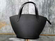 Louis Vuitton Black Epi Leather SAINT JACQUES Bag Black