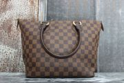 Louis Vuitton Damier Ebene SALEYA PM Tote Bag