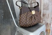 Louis Vuitton Damier Ebene SISTINA MM Shoulder Bag