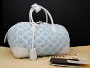 Louis Vuitton 2012 Limited Edition Monogram Sorbet Bouclettes Speedy Round
