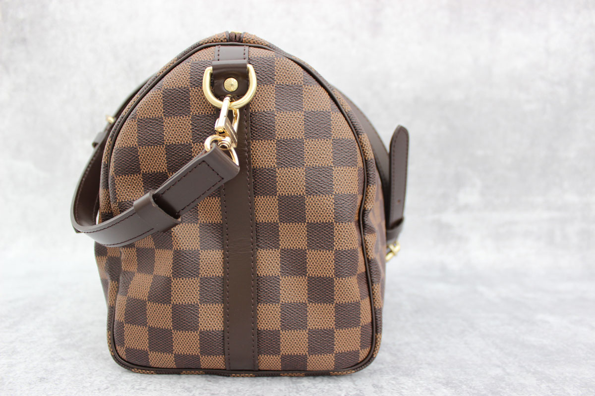 louis vuitton damier ebene speedy 30 bandouliere at jill 39 s. Black Bedroom Furniture Sets. Home Design Ideas