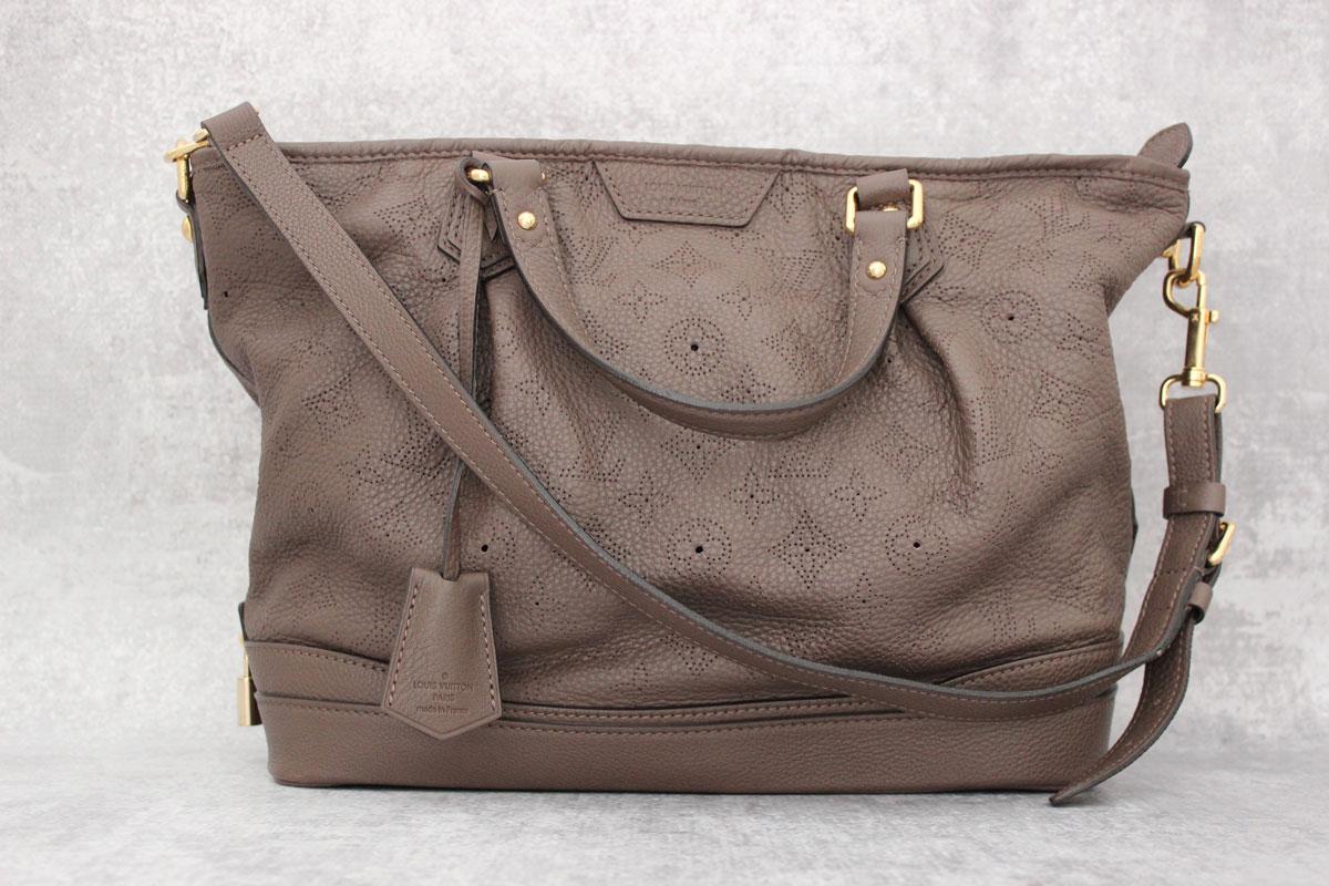4ae007dc1ee2 Louis Vuitton Monogram Mahina Leather Stellar Pm Gris Perle. Tap to expand