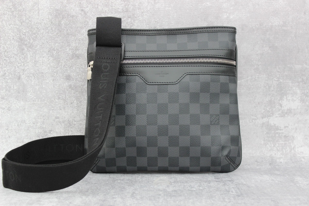 Louis Vuitton Damier Graphite Thomas Men S Bag At Jill S