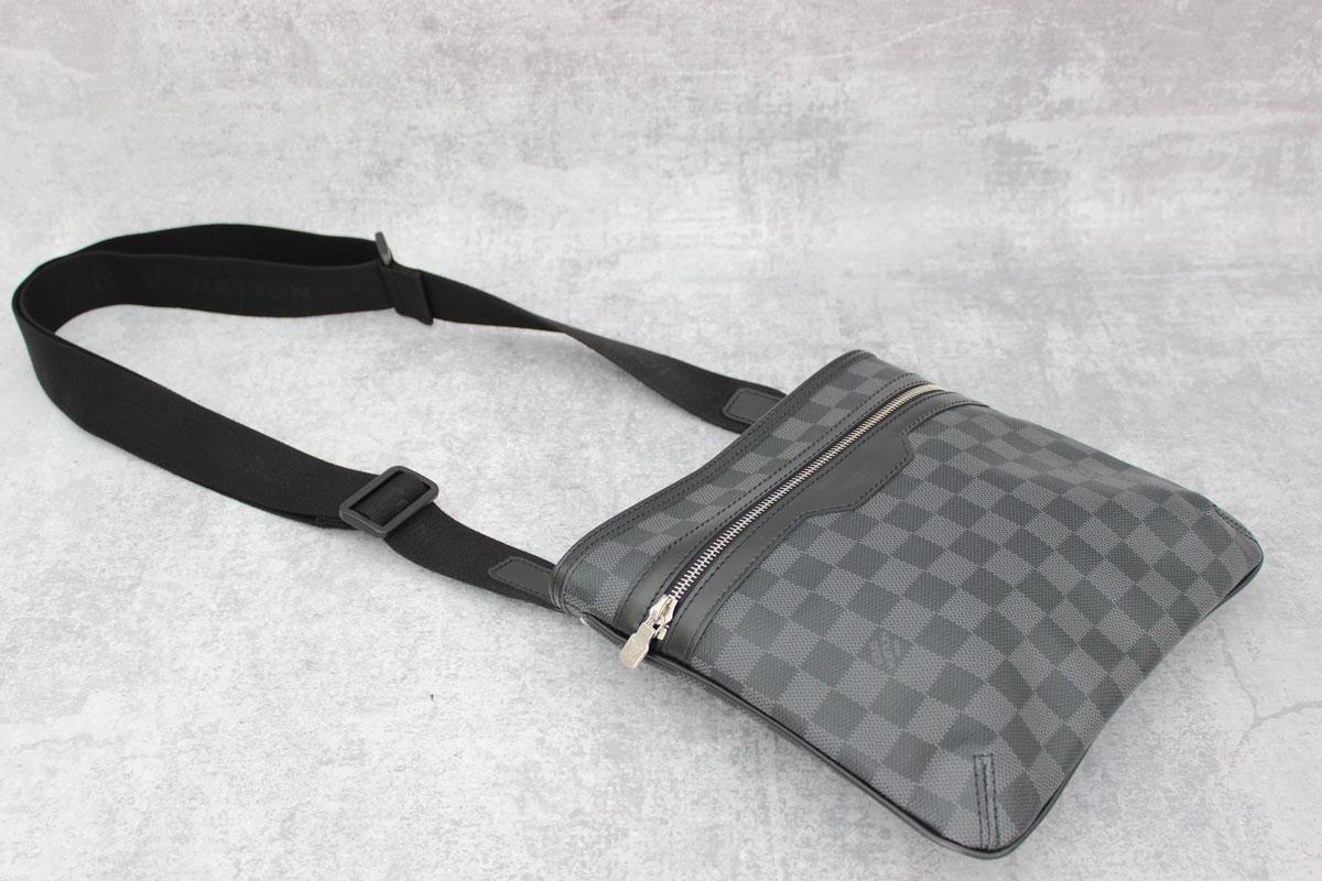Louis Vuitton Damier Graphite Thomas Men s Bag at Jill s Consignment 82e0ce8598