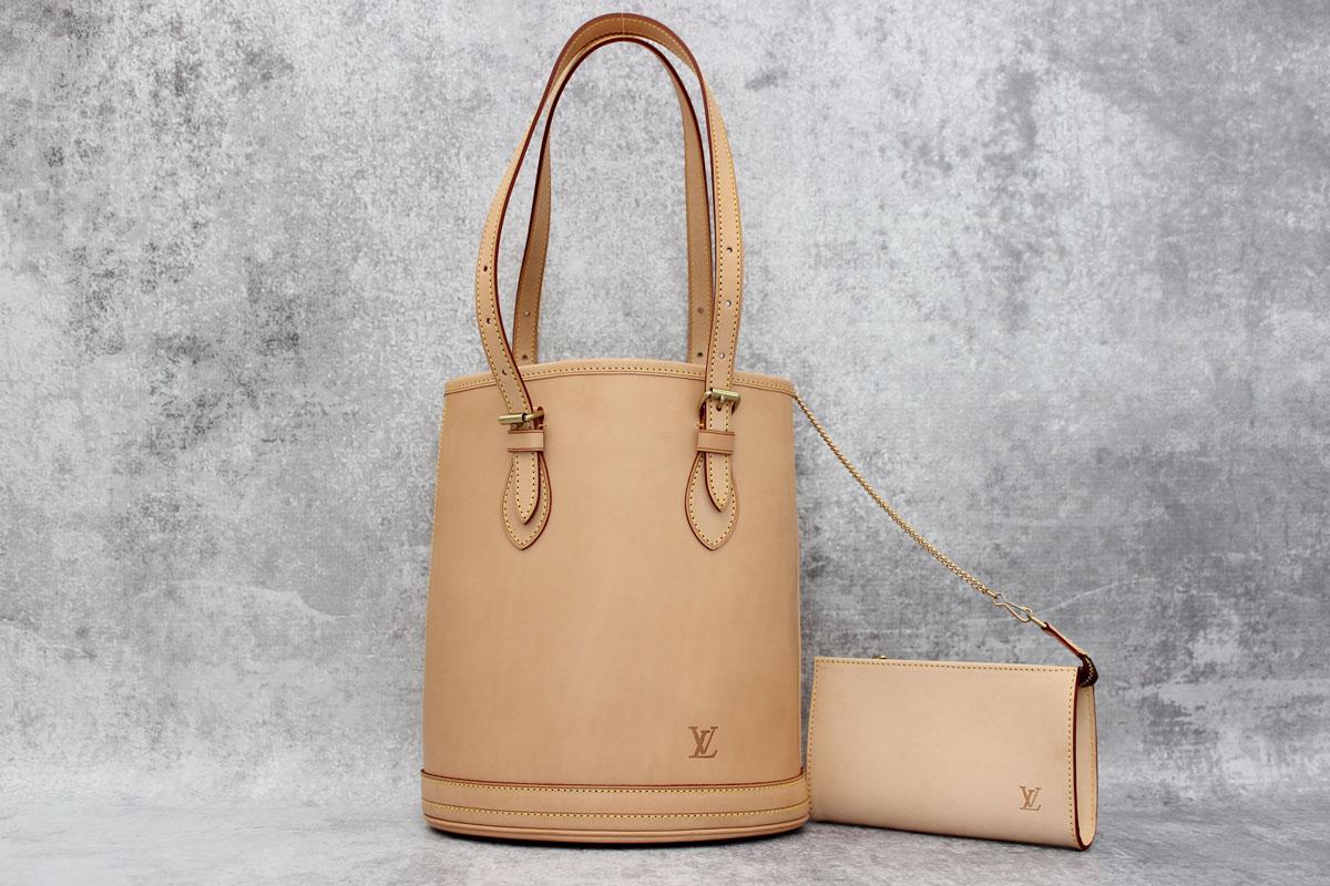 Louis Vuitton Vachetta Leather Pe