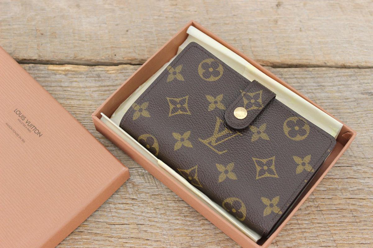 louis vuitton porte monnaie billets viennois french wallet. Black Bedroom Furniture Sets. Home Design Ideas