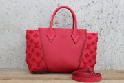 Louis Vuitton Veau Cachemire W BB Tote Red