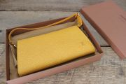 Louis Vuitton Yellow Epi Leather Pochette Accessories