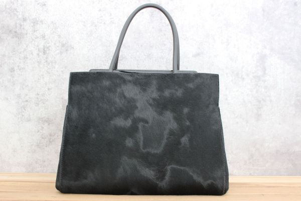Max Mara Pony Skin & Leather Roma Bag