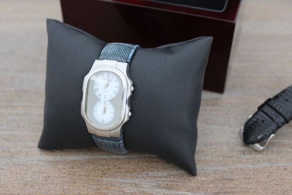 Philip Stein Teslar Dual Time Ladies Watch