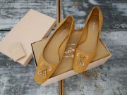 Prada Pumps Tan Leather